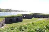 área de cañones